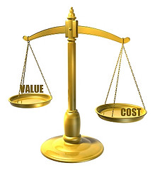scale cost value relationships